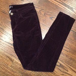 Ann Taylor Loft Modern Skinny Corduroy Pants
